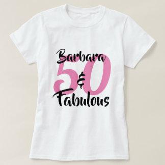50 und fabelhaftes personalisiertes T-Shirt