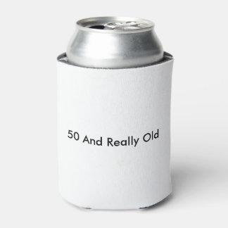 50 und wirklich alte Dose cooler Dosenkühler