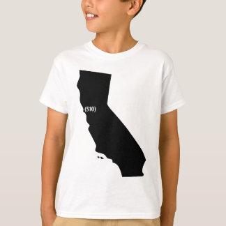 510 Postleitzahl, Kalifornien, Bucht-Bereich T-Shirt