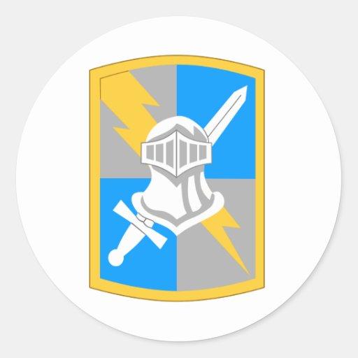 513th Heeresnachrichtendienst Runder Sticker