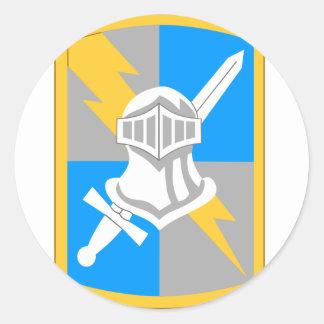 513th Heeresnachrichtendienst Runder Aufkleber