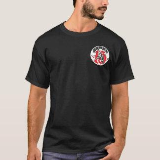 513th PIR Taschen-Flecken + Im Flugzeug Flügel-T - T-Shirt