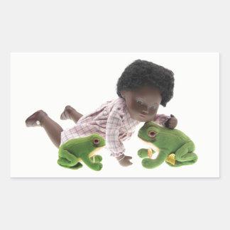 519 Sasha Cara Black  Baby Aufkleber