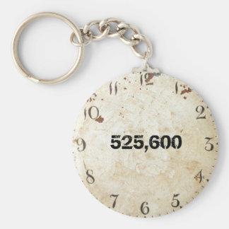 525.600 Minuten Schlüsselanhänger