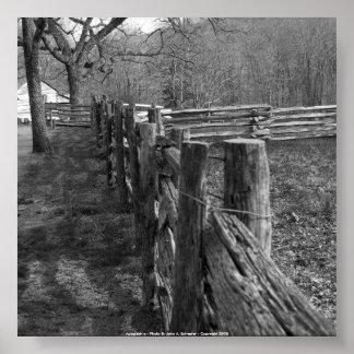 52x52 Appalachia - Foto durch John A. Sylvest… Poster