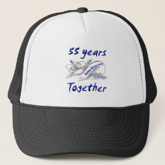 55. Jahrestag Truckerkappe