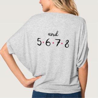 5678 Tanz-Spitze T-Shirt