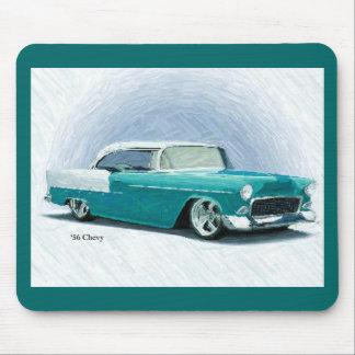 '56 Chevy - Türkis-Digital-Kunst Mousepad