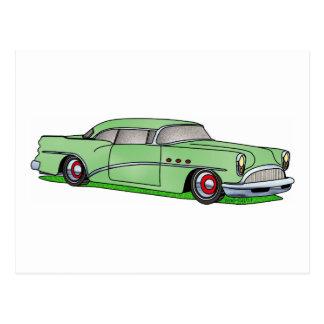 56 Tür Hardtop Buicks 2 Postkarte