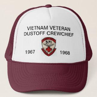 571st DUSTOFF CREWCHIEF MASCHEN-HUT Truckerkappe