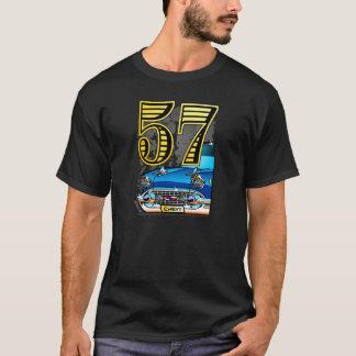 57 Chevy Auto-Cartoon T-Shirt