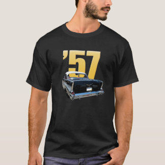 '57 Chevy Bel Air-hintere Ansicht T-Shirt