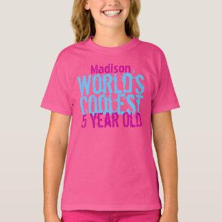 5. Coolstes die 5-jährig-Mädchen der T-Shirt