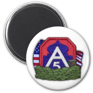 5. der Armeefleckenirak-Tierarztveteran Magnet vfw