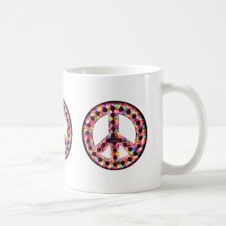 5 FarbfriedensTasse Kaffeetasse