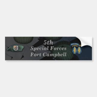 5. Fort Campbell der speziellen Kräfte Autoaufkleber