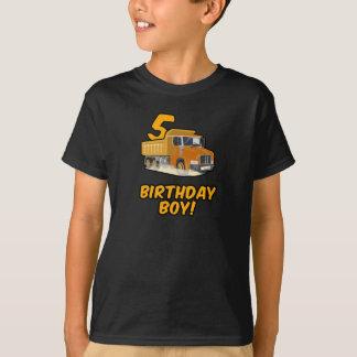 5. Geburtstags-LKW-T-Shirt - T-Shirt