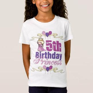 5. Geburtstags-Prinzessin T-Shirt
