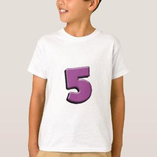 5. Geburtstags-T - Shirt