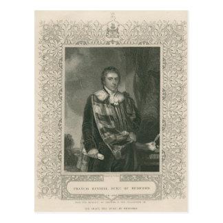 5. Herzog Francis-Russell von Bedford Postkarte