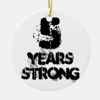 5 Jahre starke Erholungs-freundliche Keramik Ornament