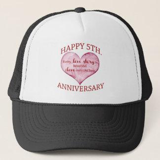 5. Jahrestag Truckerkappe