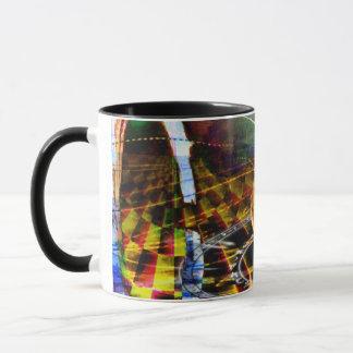 5. Maß-Feuer-Tassen-Schwarzes/Schwarzes Tasse