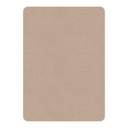 Kraft 12,7 cm x 17,8 cm, weiße Briefumschläge inklusive