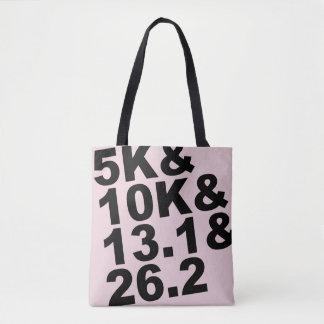 5K&10K&13.1&26.2 (Schwarzes) Tasche