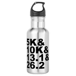 5K&10K&13.1&26.2 (Schwarzes) Trinkflasche