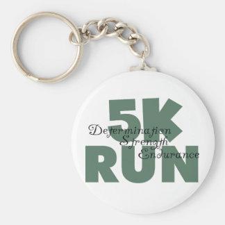 5K grünes Sport-Laufc$laufen Schlüsselanhänger