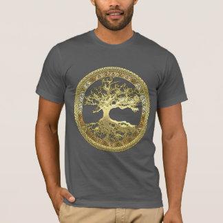 [600] Keltischer Baum des Lebens [Gold] T-Shirt