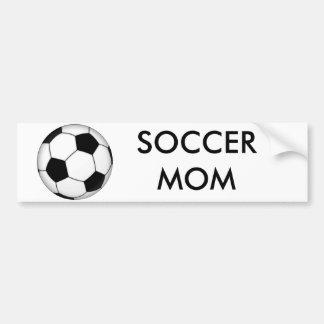 600px-Soccer_ball_svg, FUSSBALL-MAMMA Autoaufkleber