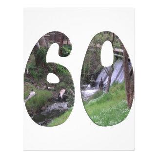 60. Geburtstag Flyers