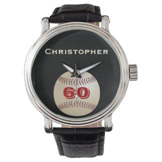 60. Geburtstags-Armbanduhr, personalisiert, Uhr