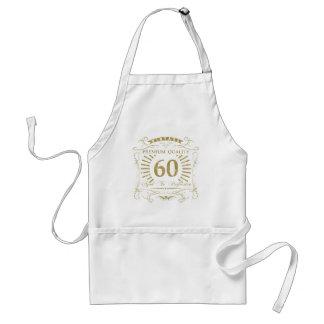60. Geburtstags-Gag-Geschenk Schürze