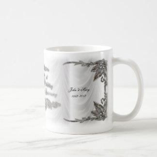 60. Hochzeits-Jahrestags-Tasse Tasse