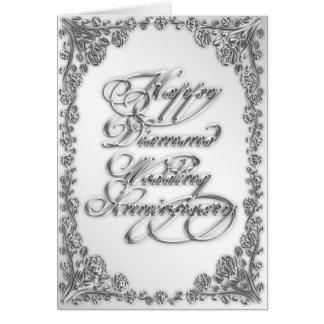 60. Hochzeitstag-Gruß-Karte Karte