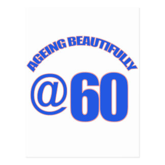 60. Jährigentwürfe Postkarte