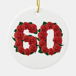 60 KERAMIK ORNAMENT