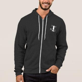$60 Mann-grauer besserer ZipHoodie - H&L Hoodie
