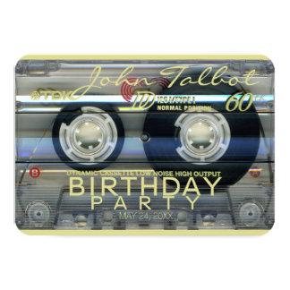 60. Party Einladung Geburtstag des Retro