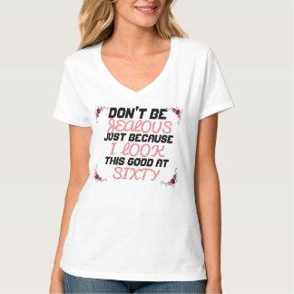 60 SECHZIG JAHRE ALTE X-JUNGE- T-Shirt
