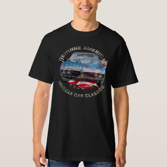 60-ties Pontiac Firebird american muscle car, V8 T-Shirt
