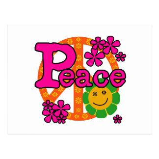 60er Art-Frieden Postkarte