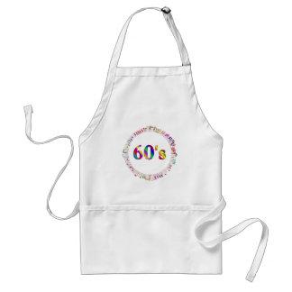 60er Musik Schürze