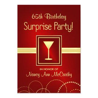 65. Geburtstags-Überraschungs-Party Einladungen