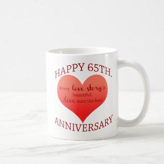 65. Jahrestag Kaffeetasse