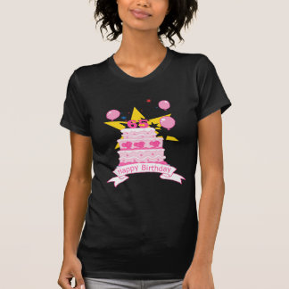 65 Jährig-Geburtstags-Kuchen T-Shirt