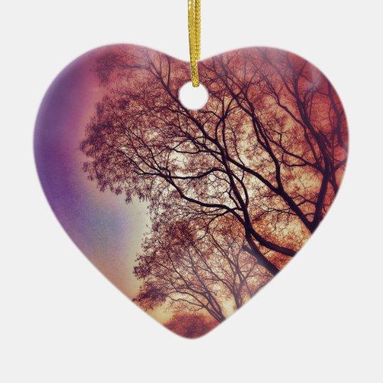 #6653 Tree Keramik Ornament